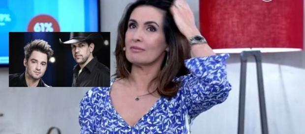 Dupla se recusa a falar com Fátima Bernardes
