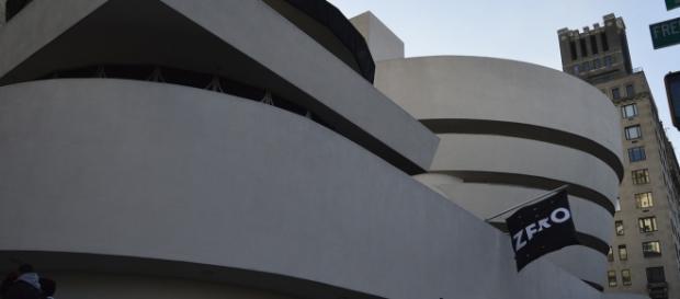 Veduta esterna del Guggenheim Museum - Manhattan