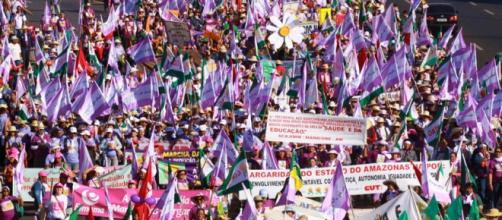 A Marcha das Margaridas invade Brasília