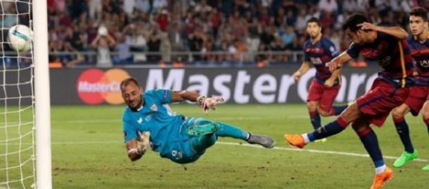 El gol de Pedro decisivo en la prórroga.