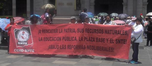 Magisterio inconforme con reforma educativa