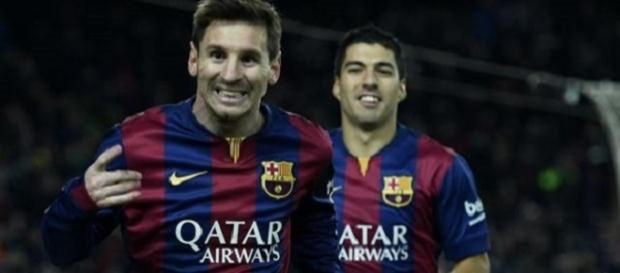Messi and Suarez both scored for Barcelona