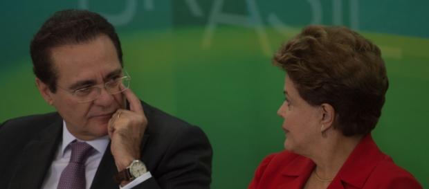 Renan e Dilma Rousseff: diálogo contra a crise