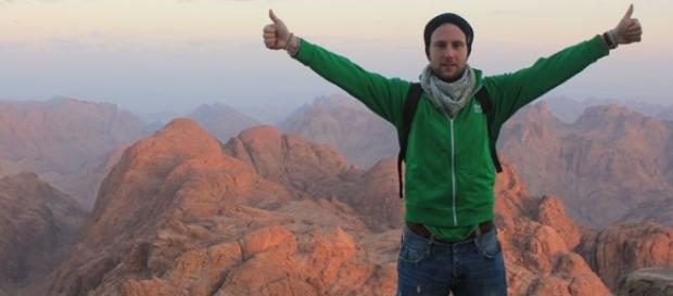 Una foto di Johnny Ward in Egitto