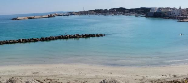 Una visuale della città di Otranto