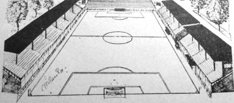 """Lo stadio """"Palmintelli"""" di Caltanissetta"""