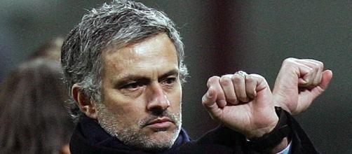 """L'allenatore dei """"Blues"""", Josè Mourinho"""