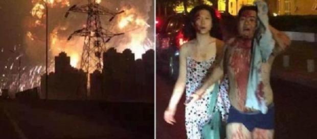 Explozii de proporţii la Tianjin