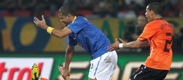 Felipe foi expulso contra a Holanda em 2010