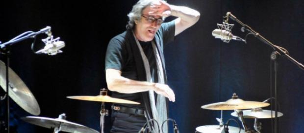 Giancarlo Golzi, batterista dei Matia Bazar