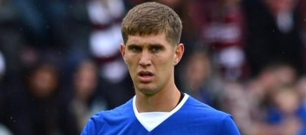 John Stones, the subject of Chelsea's interest