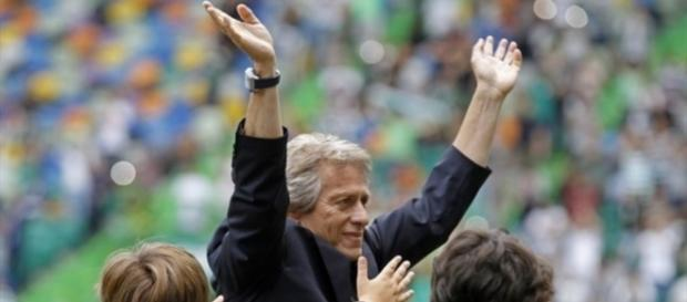 Jorge Jesus, treinador do Sporting.