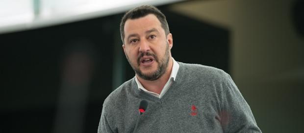 Matteo Salvini, leader della Lega Nord.