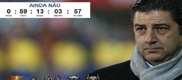Site conta o tempo de Rui Vitória no Benfica
