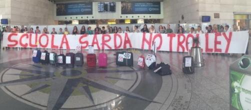 Assunzioni scuola, protesta docenti Sardegna