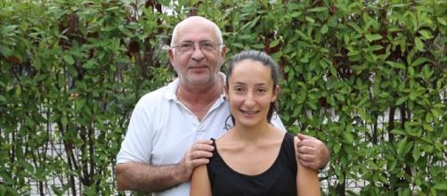 Giussepe y Elisa que tiene hoy 14