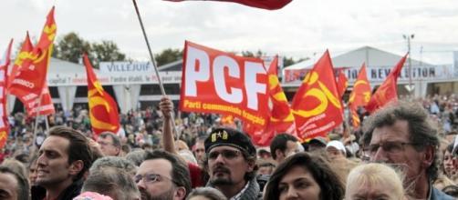 parti communiste francais - manifestation