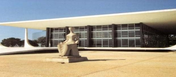 Sede do Superior Tribunal Federal, em Brasilia