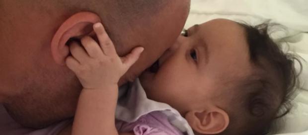 Vin and his Baby-Diesel, Pauline.