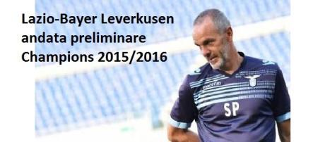 Lazio-Leverkusen 2015 andata preliminare Champions
