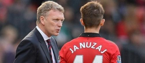 Adnan Januzaj playing under David Moyes
