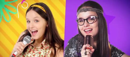 Larissa Manoela é as gêmeas Manoela e Isabela