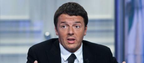 Il leader del Pd, Matteo Renzi