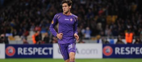 Marcos Alonso, terzino della Fiorentina