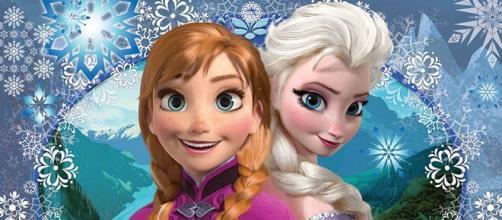Anna e Elsa, as irmãs do clássico da Disney