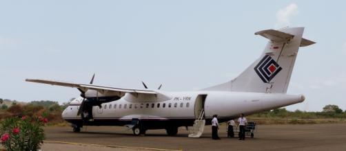 Avión de Trigana se estrella en Indonesia