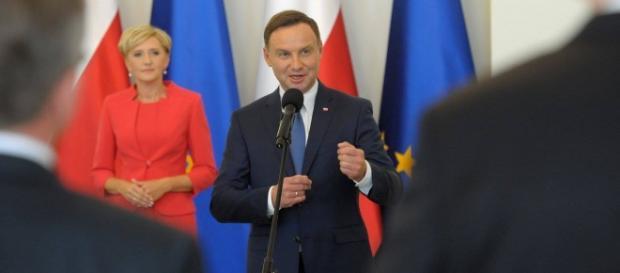 Andrzej Duda jako wzorowy dyplomata.