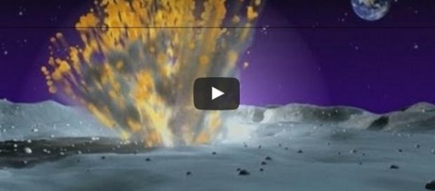 Asteroidi e meteoriti nello spazio (ODN/YouTube)