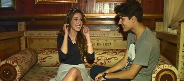 Julen y Paola en una de sus citas en MYHYV