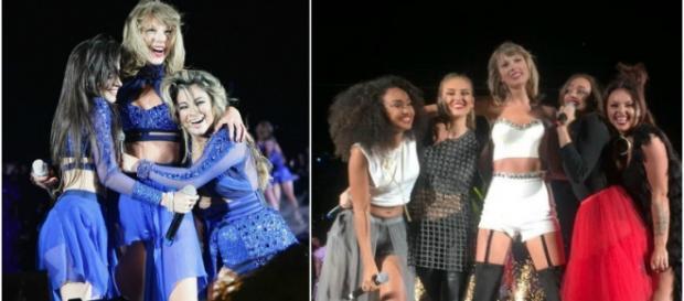 Taylor Swift convidou Fifth Harmony e Little Mix