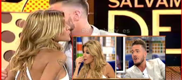 Tony y Oriana sellan la paz con un beso