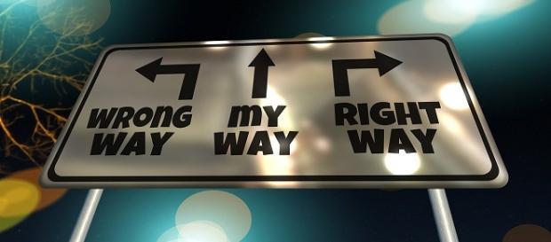 Trebuie să fii hotărât pe drumul vieţii.