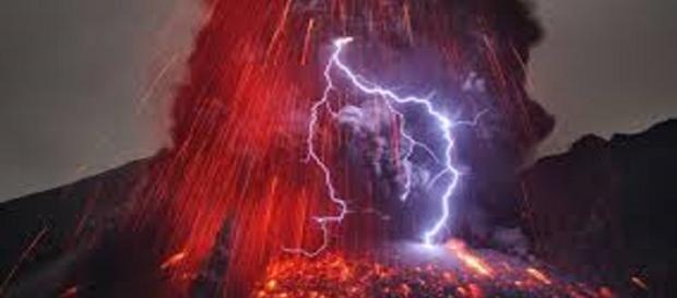 Una vecchia ed imponente eruzione del Sakurajima