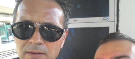 Mihajlovic a Roma Termini in partenza per Milano