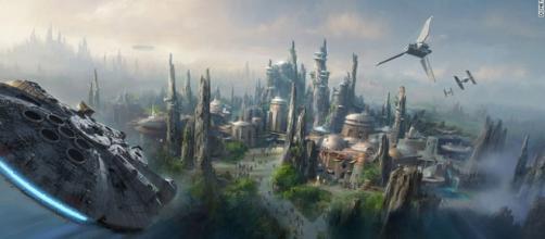 Proyecto parque temático Star Wars