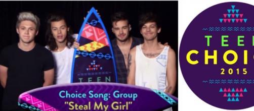Teen Choice Awards: One Direction ganhou 8 prêmios