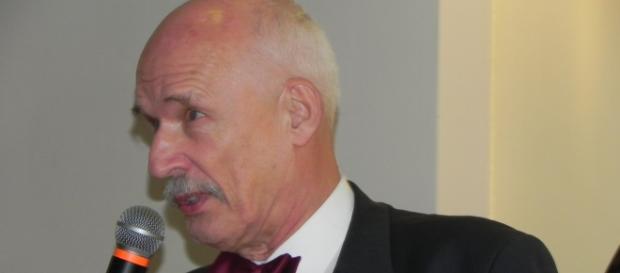 Janusz Korwin-Mikke. Fot. K.Krzak