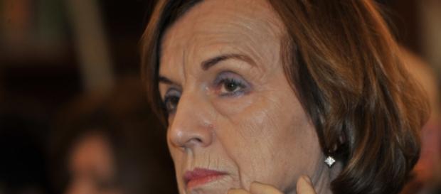 L'ex ministro del Lavoro, Elsa Fornero
