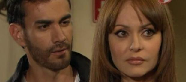 Os amantes são descobertos por Benita e Isabel