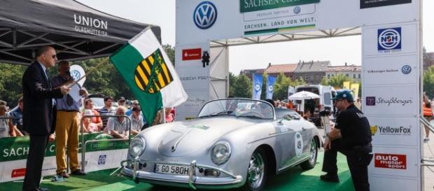 Porsche 911 356 Speedster, Sachsen Classic 2015