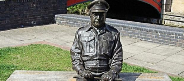 Stature of Captain Mainwaring in Thetford