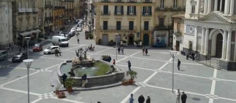 Caltanissetta, piazza Garibaldi