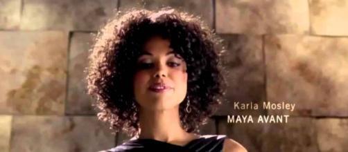 Maya Avant messa alle strette da Brooke