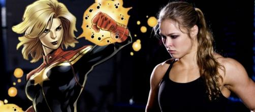 The MMA fighter Ronda Rousey as Miss Marvel.