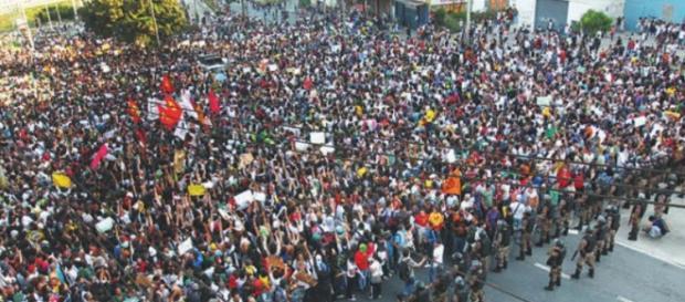 A maior manifestação está marcada para o dia 7