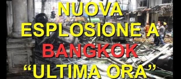 Bangkok Attentato, nuova esplosione